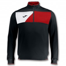 CREW II HZ POLY TOP (BLACK-RED-WHITE)